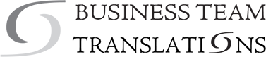Business Team Translations Mobile Logo